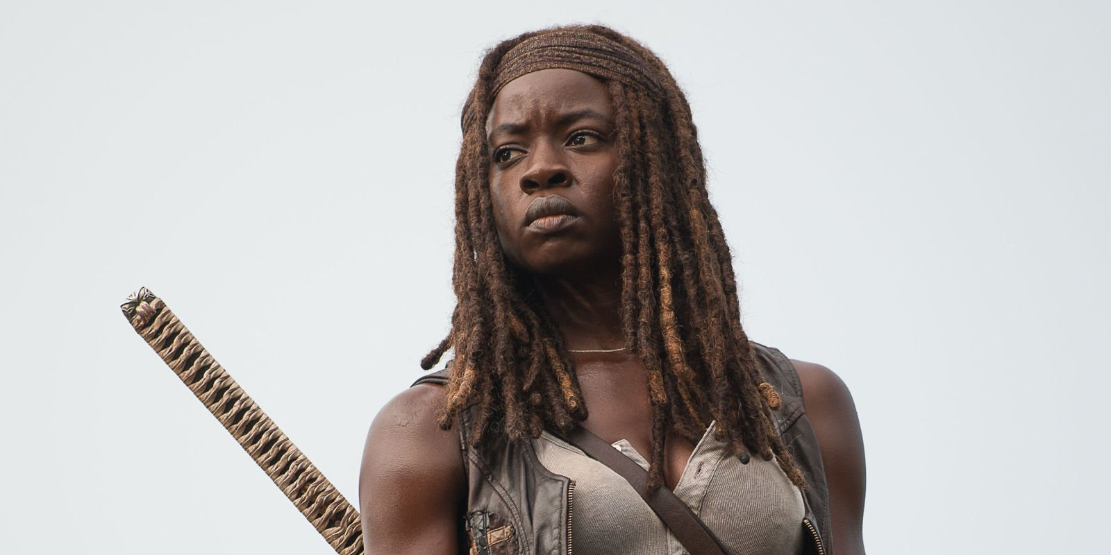 "The Walking Dead's Danai Gurira says she was ""depressed"" about Carl's season 8 exit"