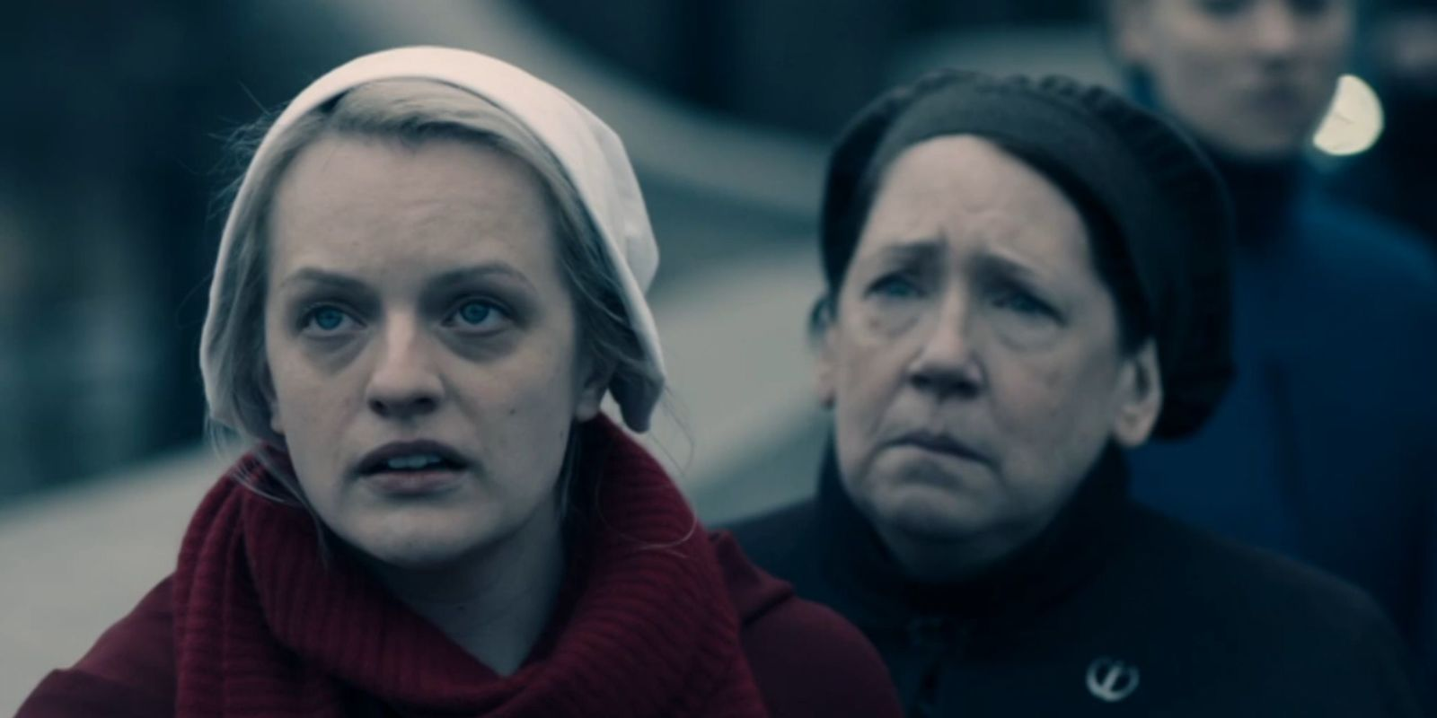 The Handmaid's Tale cast say the series 'could happen' in real life in behind-the-scenes clip