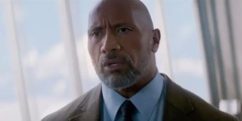 First look at Skyscraper sees Dwayne Johnson tackling disaster in world's tallest building