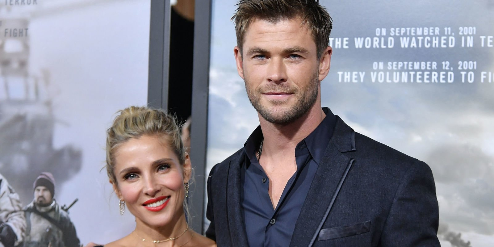 ​Chris Hemsworth and Elsa Pataky film sex scene for 12 Strong.