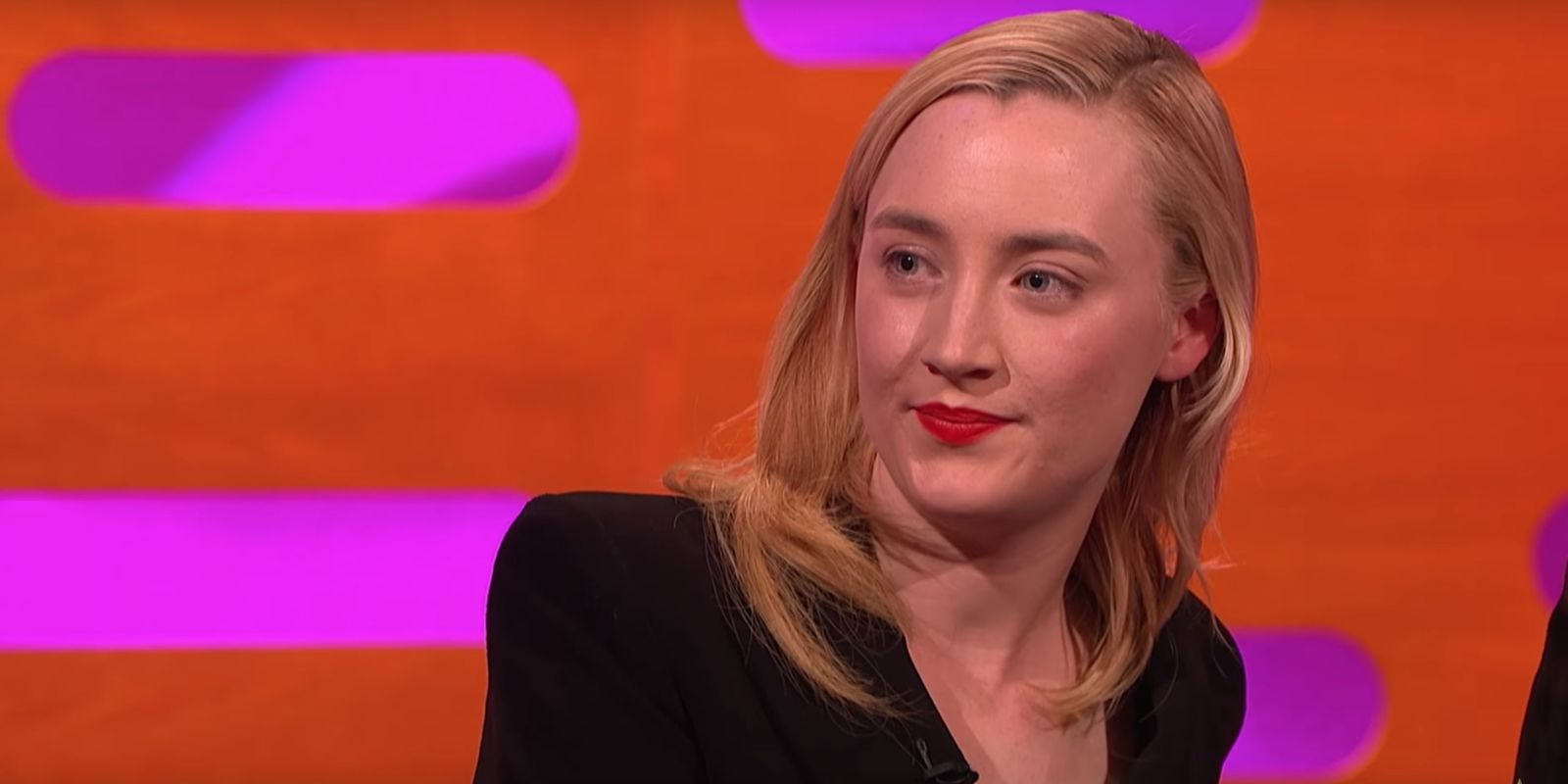 Saoirse Ronan reveals Lady Bird screening appearance fail