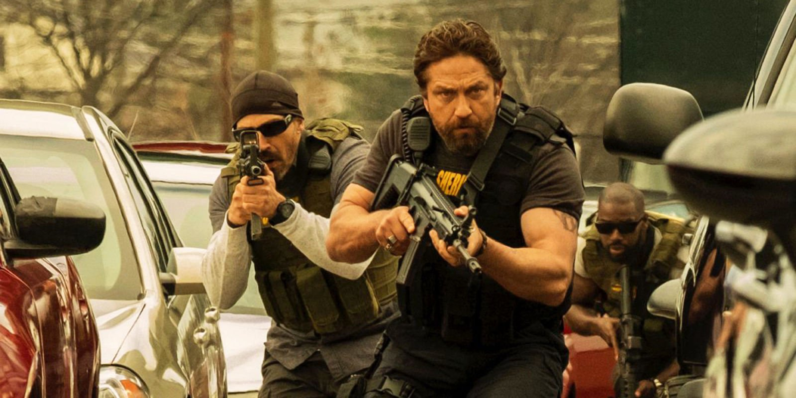 Gerard Butler will return for Den of Thieves 2 alongside O'Shea Jackson Jr and Curtis '50 Cent' Jackson