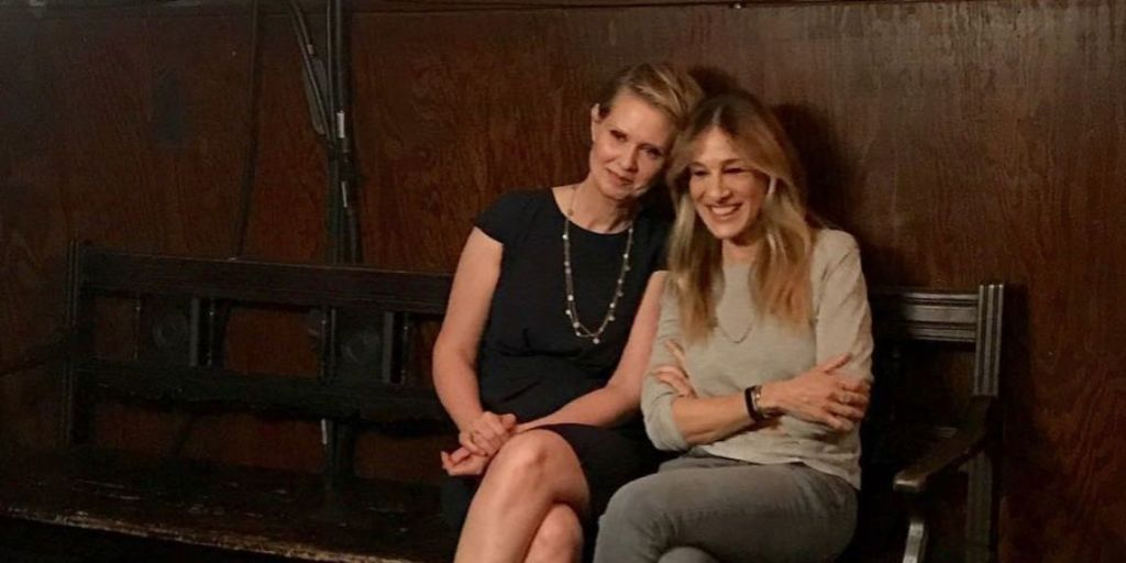 Sex and the City's Cynthia Nixon and Sarah Jessica Parker share reunion photo