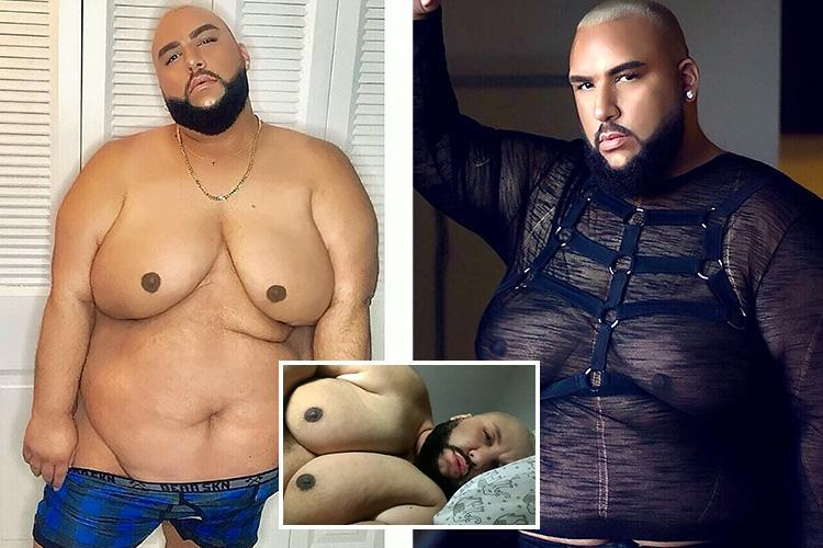 Meet the 29-stone plus-size male model who proudly shows off his frame in daring shoots after years of covering up