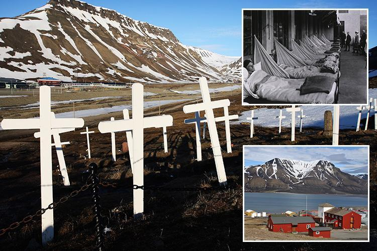 Inside Longyearbyen, the town where dying is ILLEGAL because it's so cold corpses never rot… and scientists fear graveyards are still riddled with 1918 Spanish Flu outbreak virus