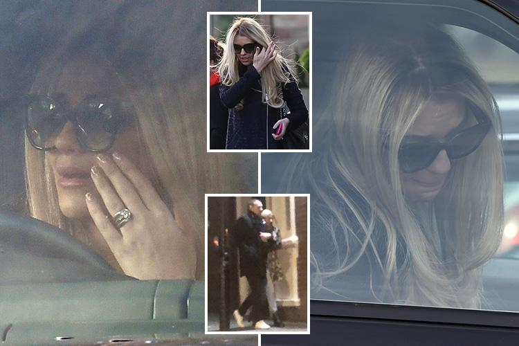 Paddy McGuinness's wife Christine breaks down in tears after he's pictured cuddling up to Nicole Appleton