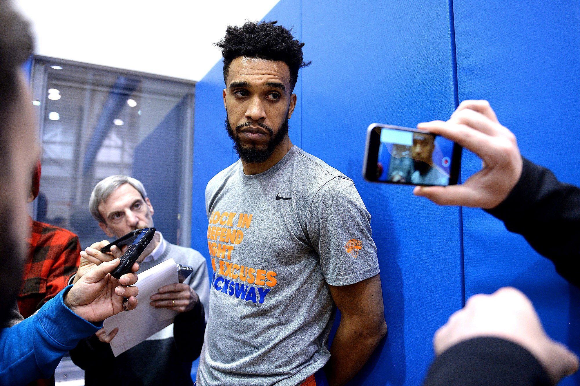 Courtney Lee wants to save Knicks, not run from them