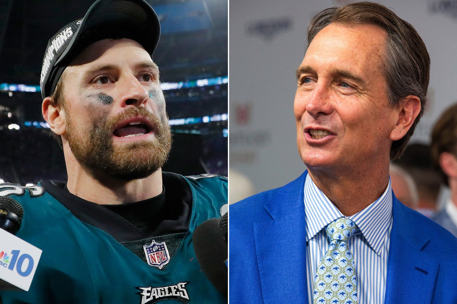 Chris Long becomes face of Eagles' Cris Collinsworth anger
