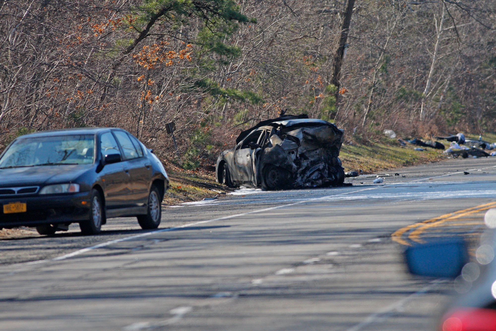 Several killed in fiery Long Island wreck that involved