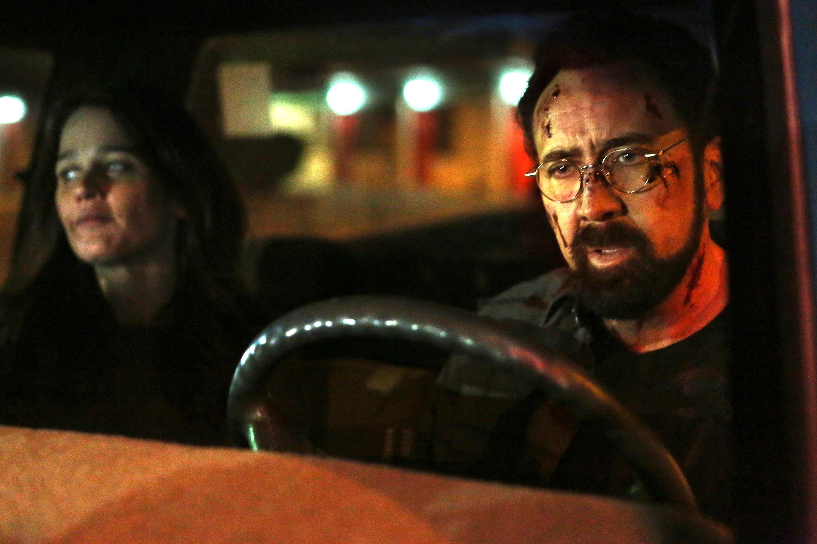 Nicolas Cage-starring Looking Glass could use more crazy: EW review