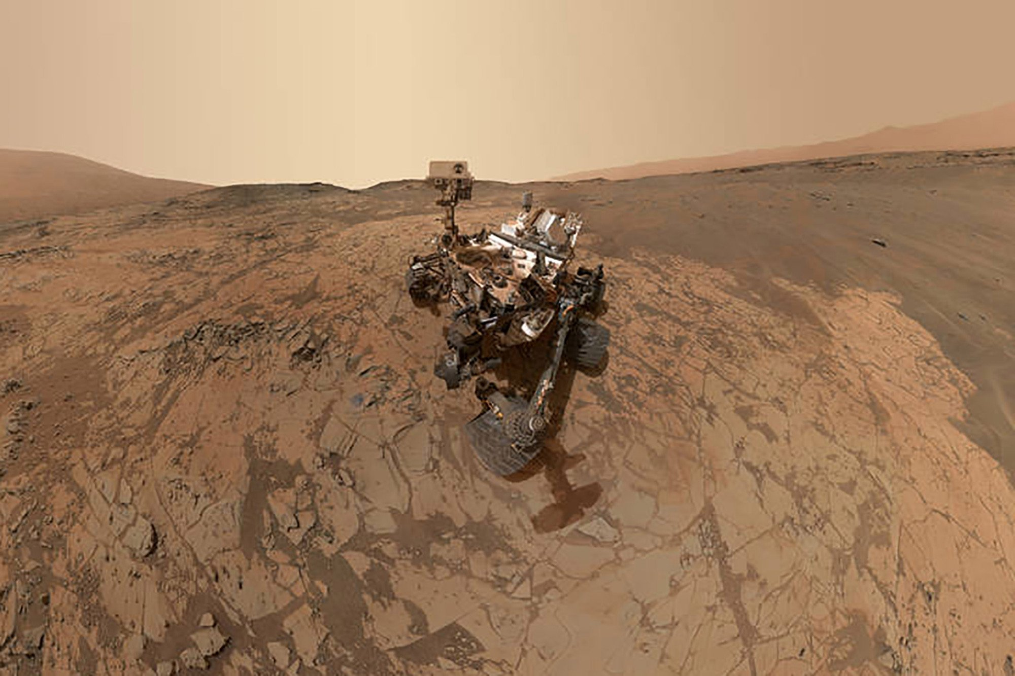 NASA is sending a piece of Mars back home