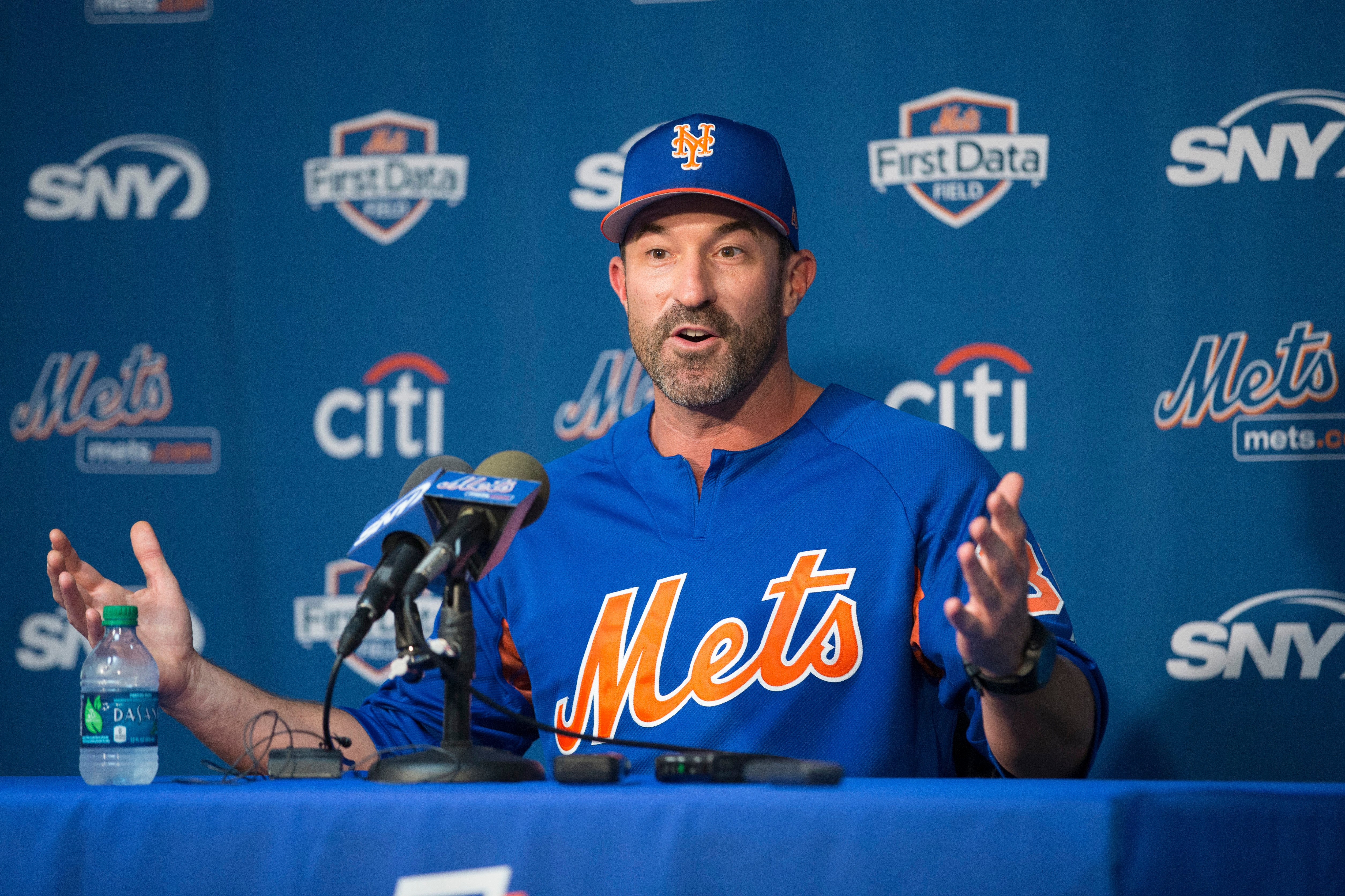 Mickey Callaway welcomes the pressure he doesn't deserve yet
