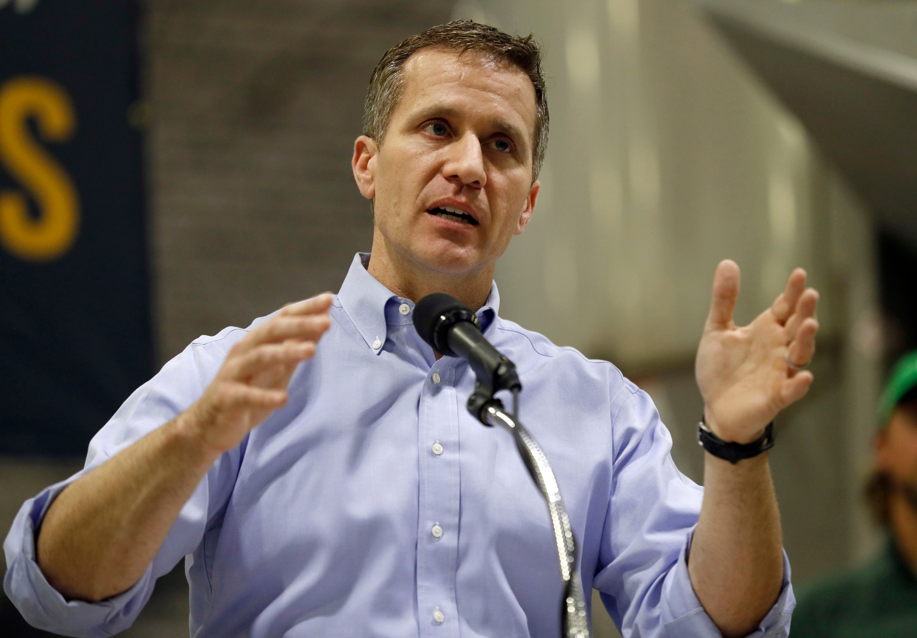 Missouri governor accused of blackmailing mistress indicted