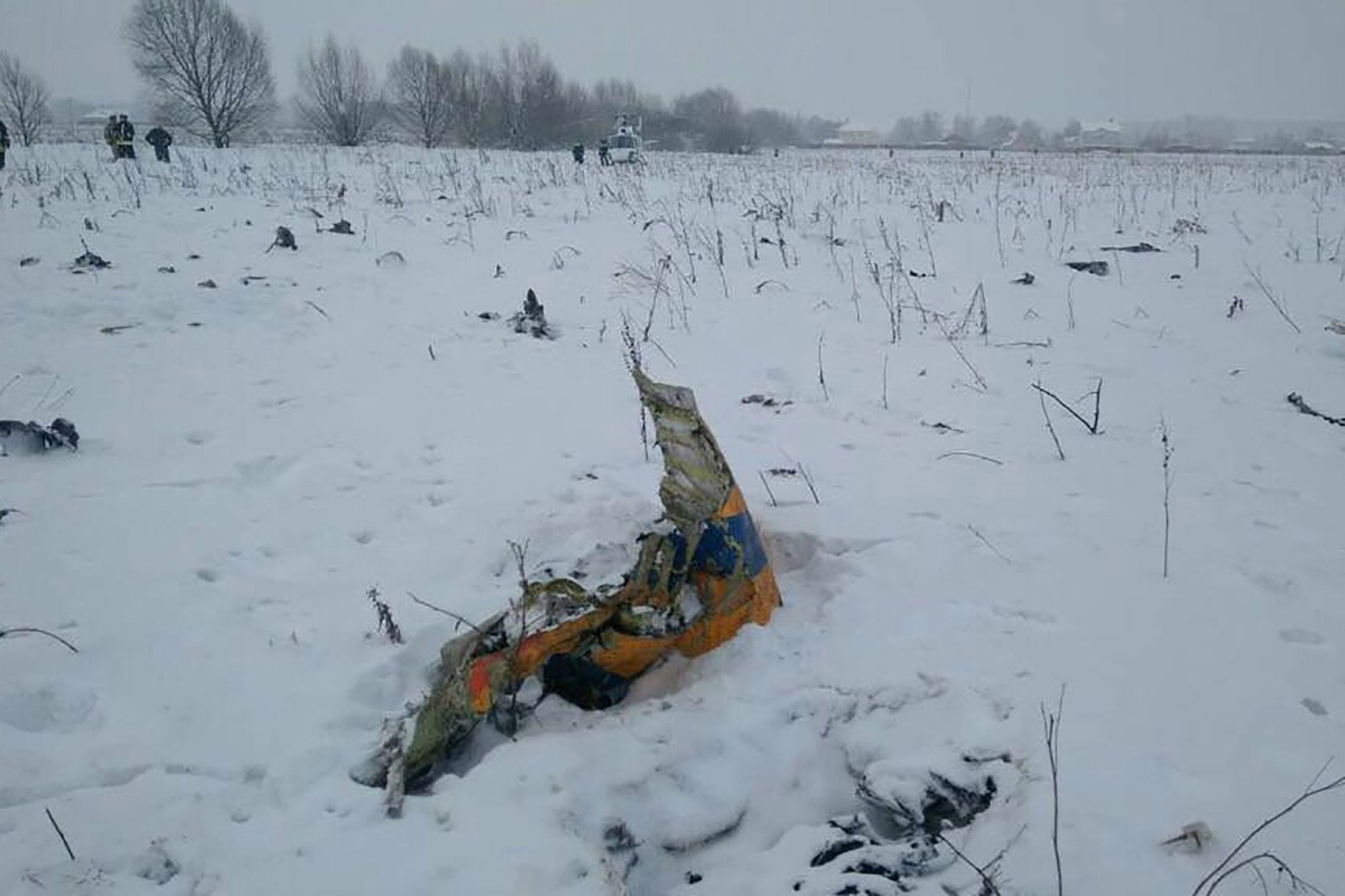 Plane with 71 passengers crashes near Moscow, killing all on board