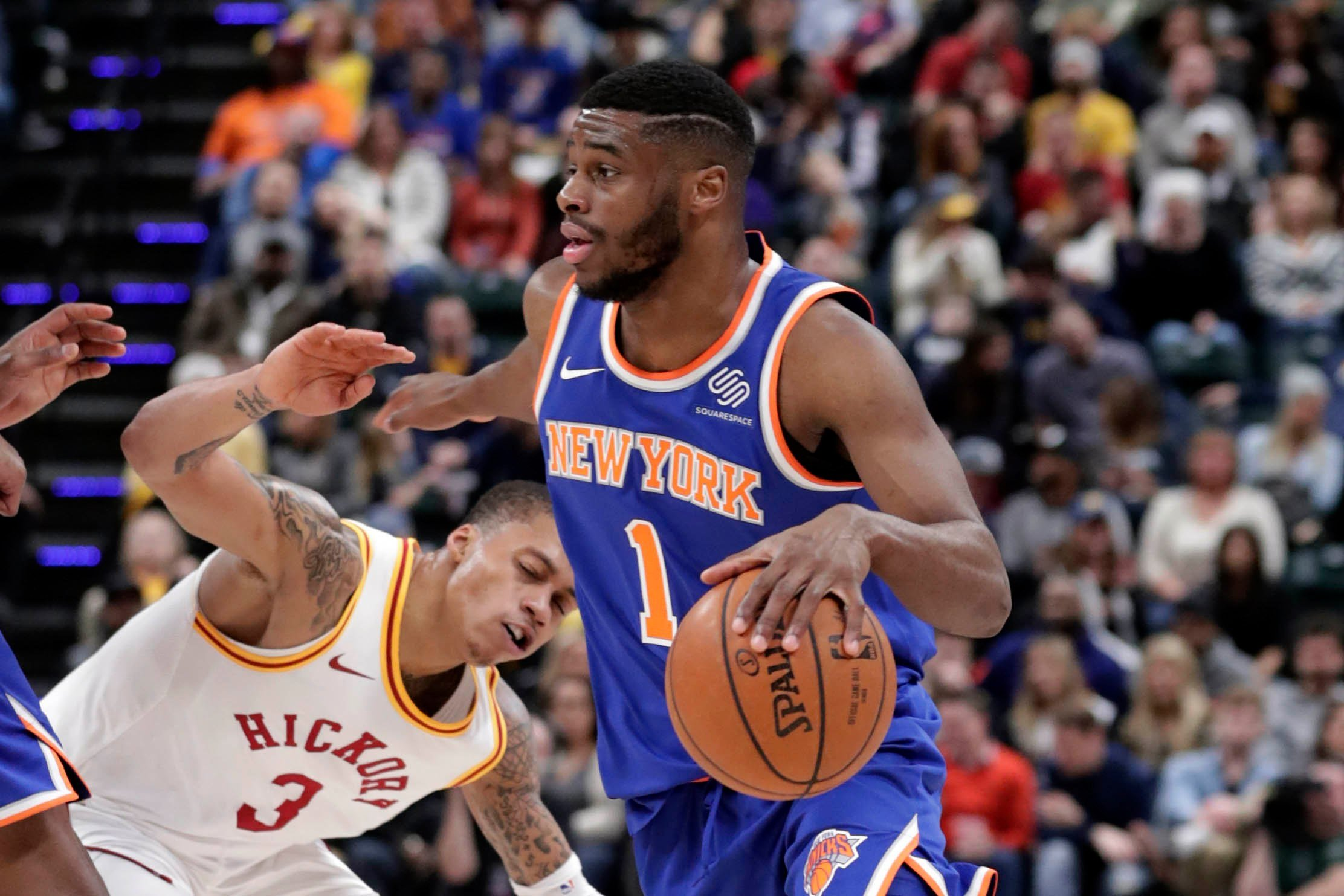 Emmanuel Mudiay impresses (and Knicks don't) in strong debut