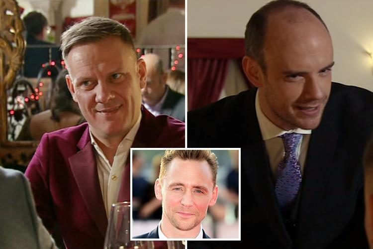 Coronation Street fans baffled when waiter asks Sean if he's related to Tom Hiddleston