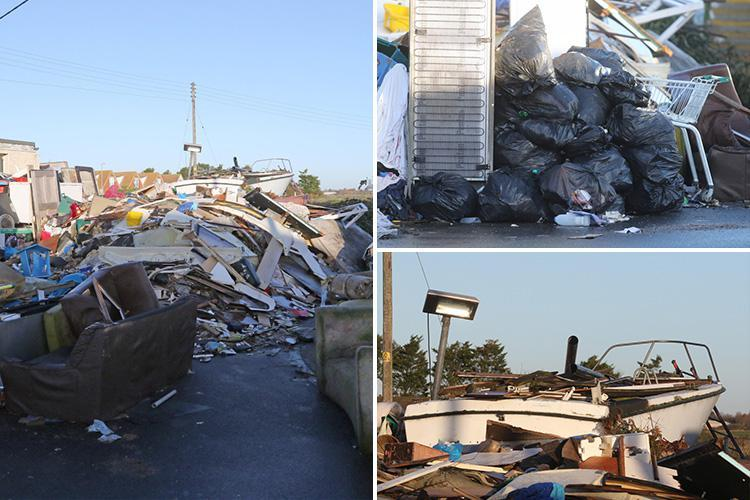 Shocking 'third world' state of benefits-by-the-sea town Jaywick that's become dumping ground for rubbish