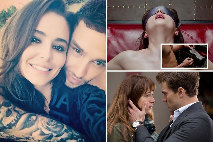 Liam Payne admits he's taking tips from Fifty Shades Of Grey film home to Cheryl for Valentine's Day