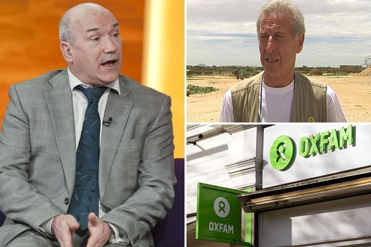 Fury as Oxfam GB head claims charity's sex scandal has been 'blown out of all proportion'