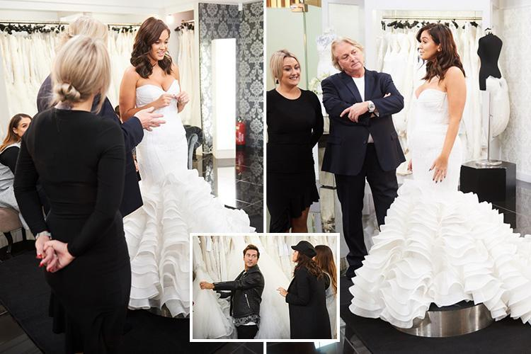 Vicky Pattison goes shopping for her dream wedding dress despite postponing her big day by a year