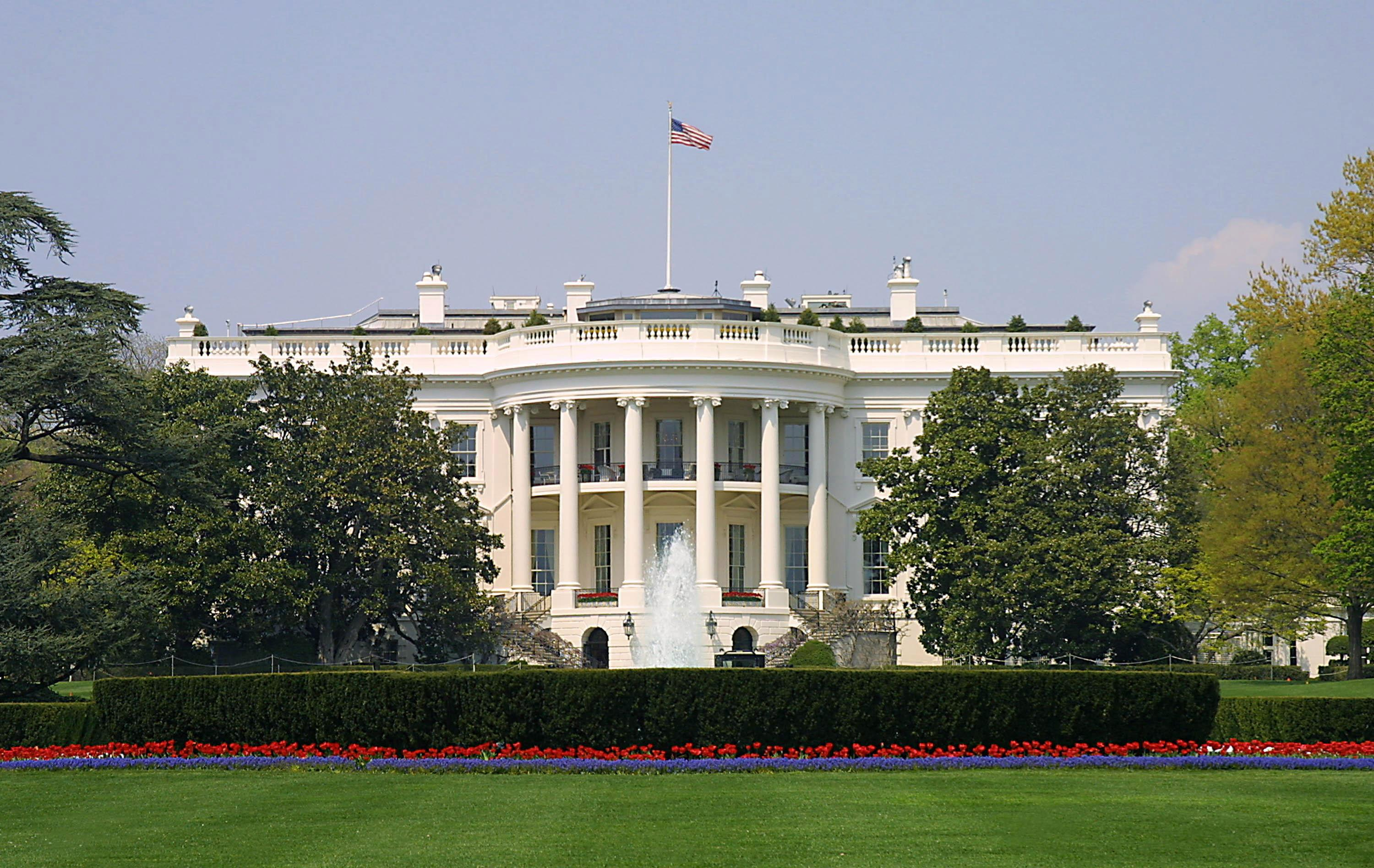 White House on alert as neighbouring government building is evacuated following fears over 'suspicious vehicle'