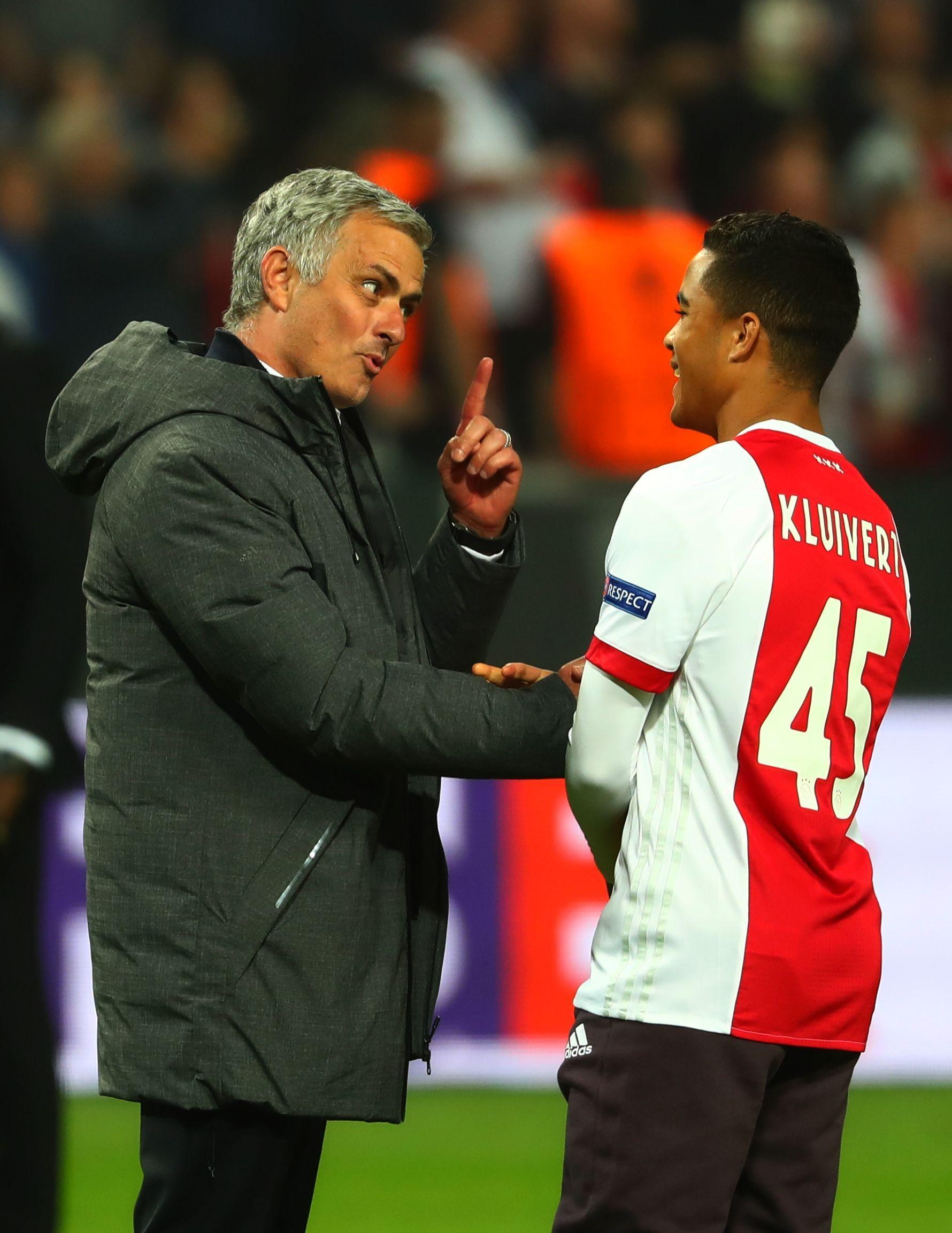 Manchester United news: Justin Kluivert refuses to rule out Old Trafford switch but denies Jose Mourinho talks