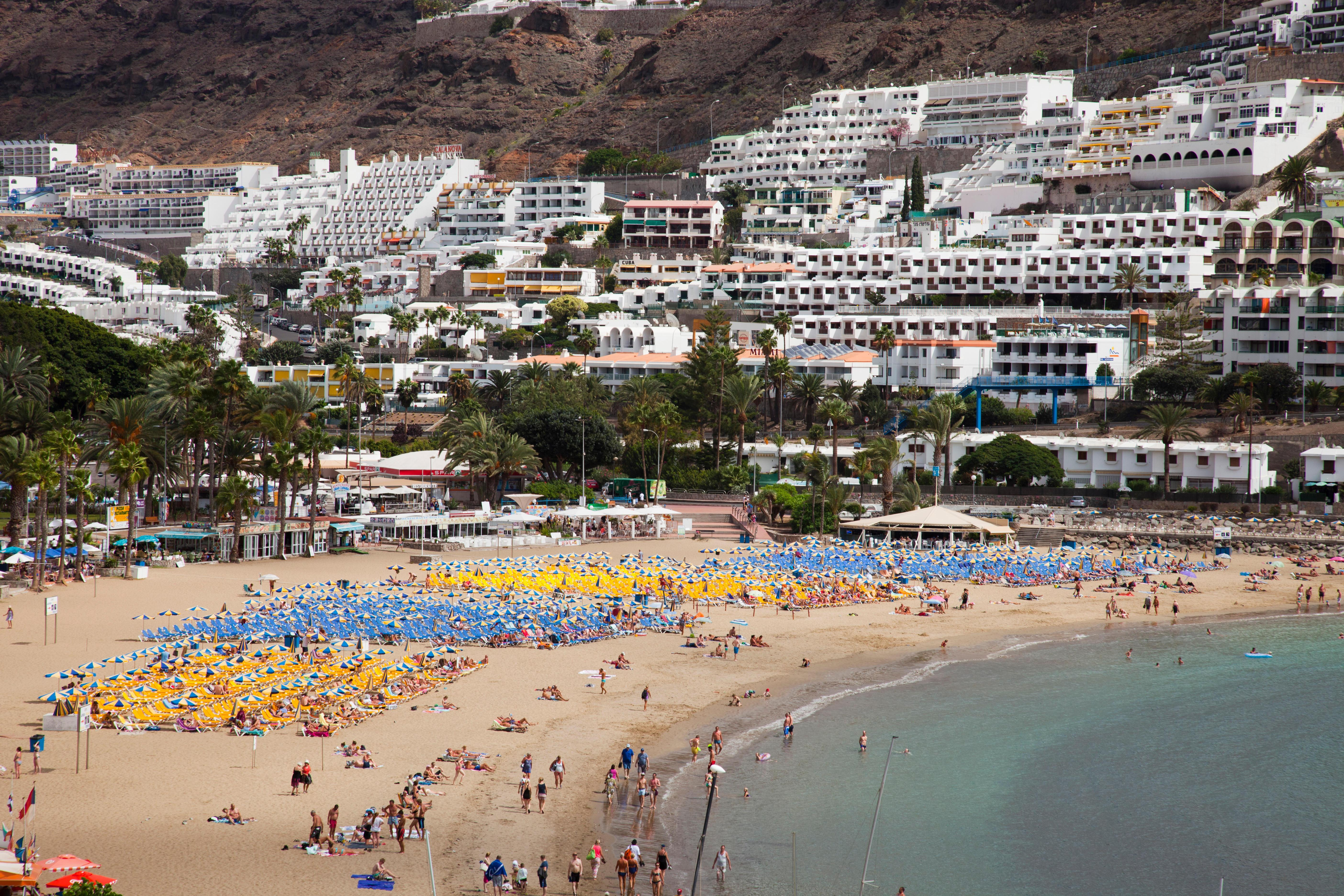 Three Brits arrested after 'mocking UK couple for being gay' on flight to Gran Canaria