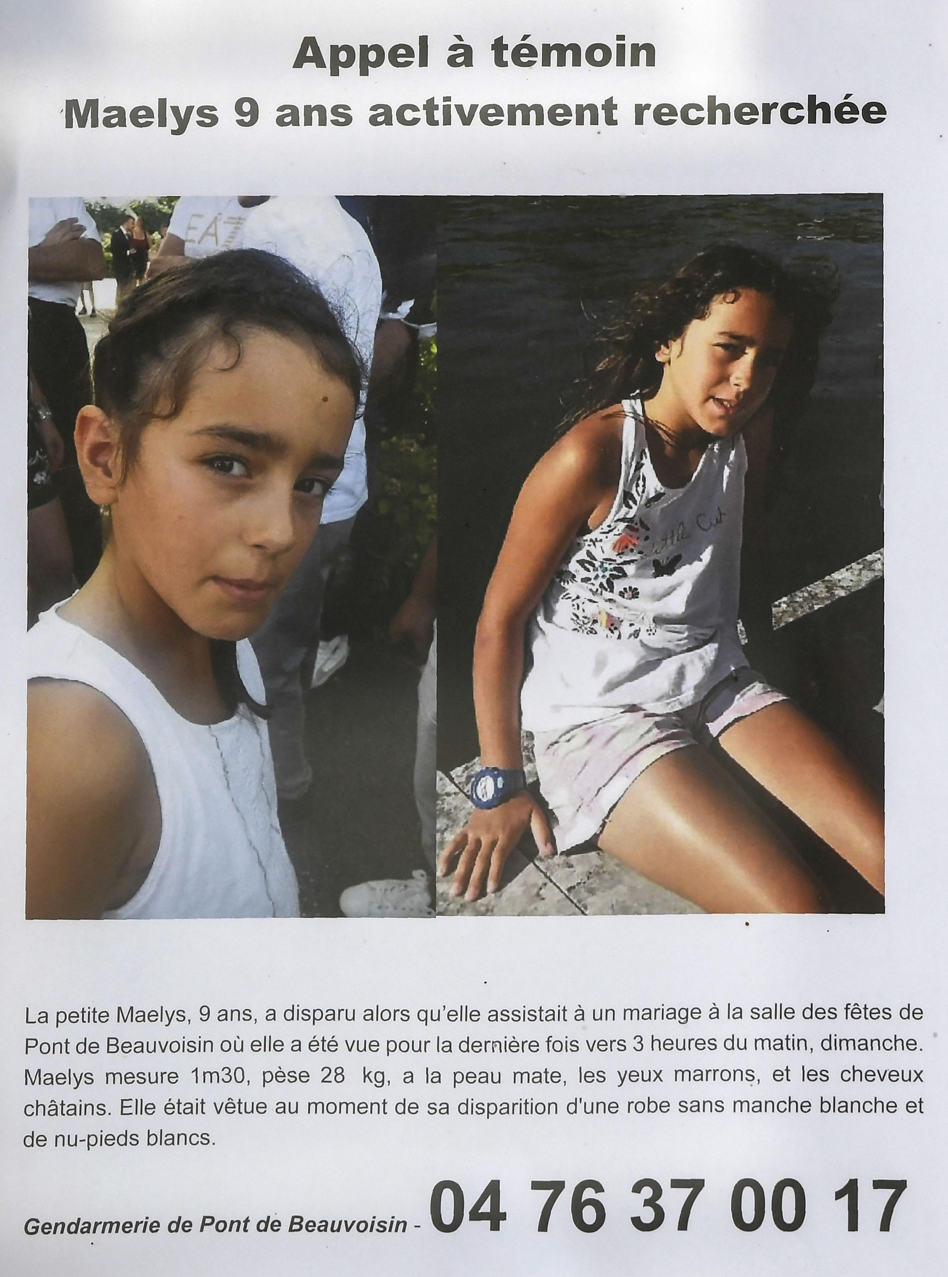 Body of Maelys de Araujo, 9, found five months after she vanished from wedding in France