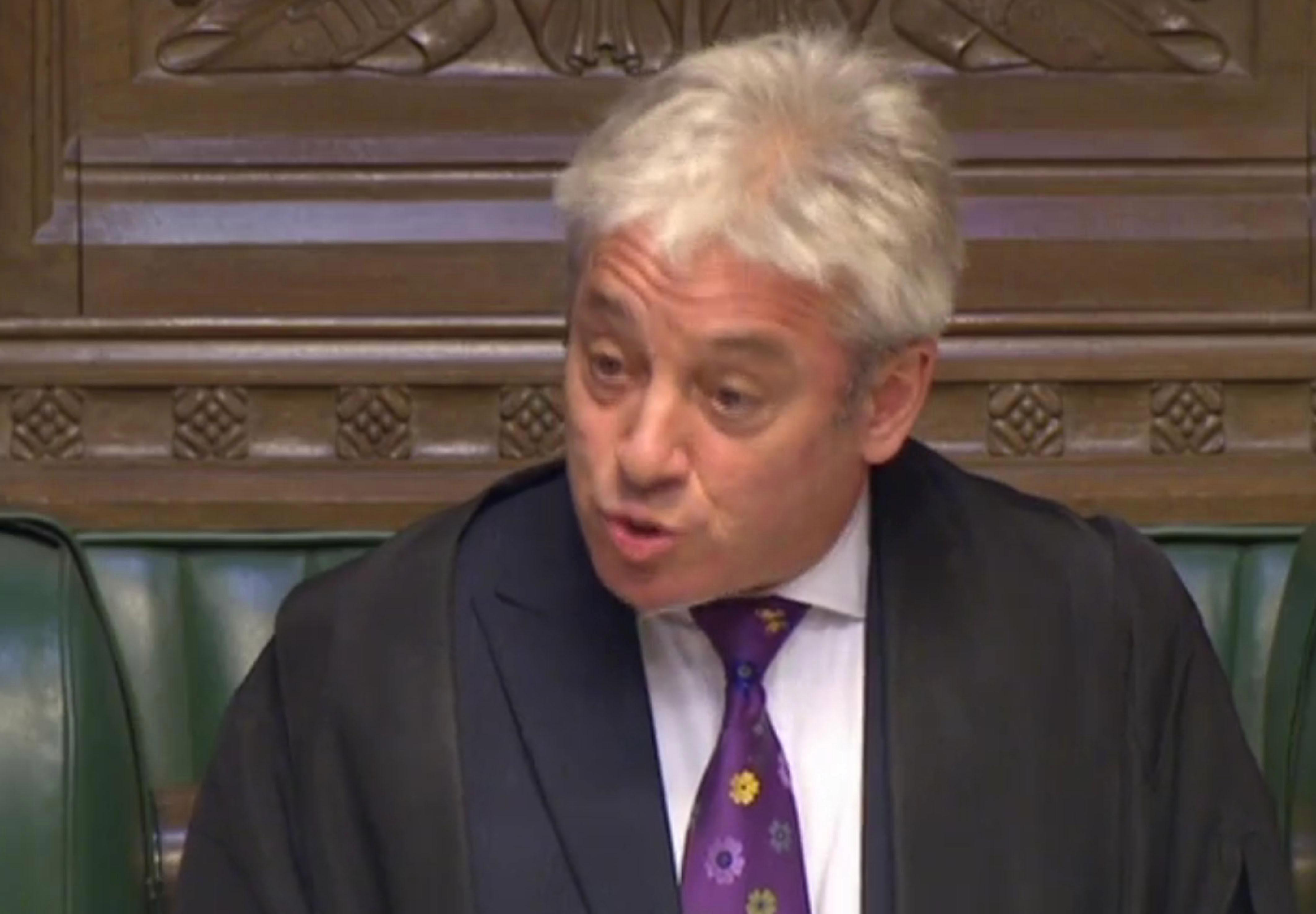 John Bercow charges the taxpayer £70 for photos of himself to send to his fans