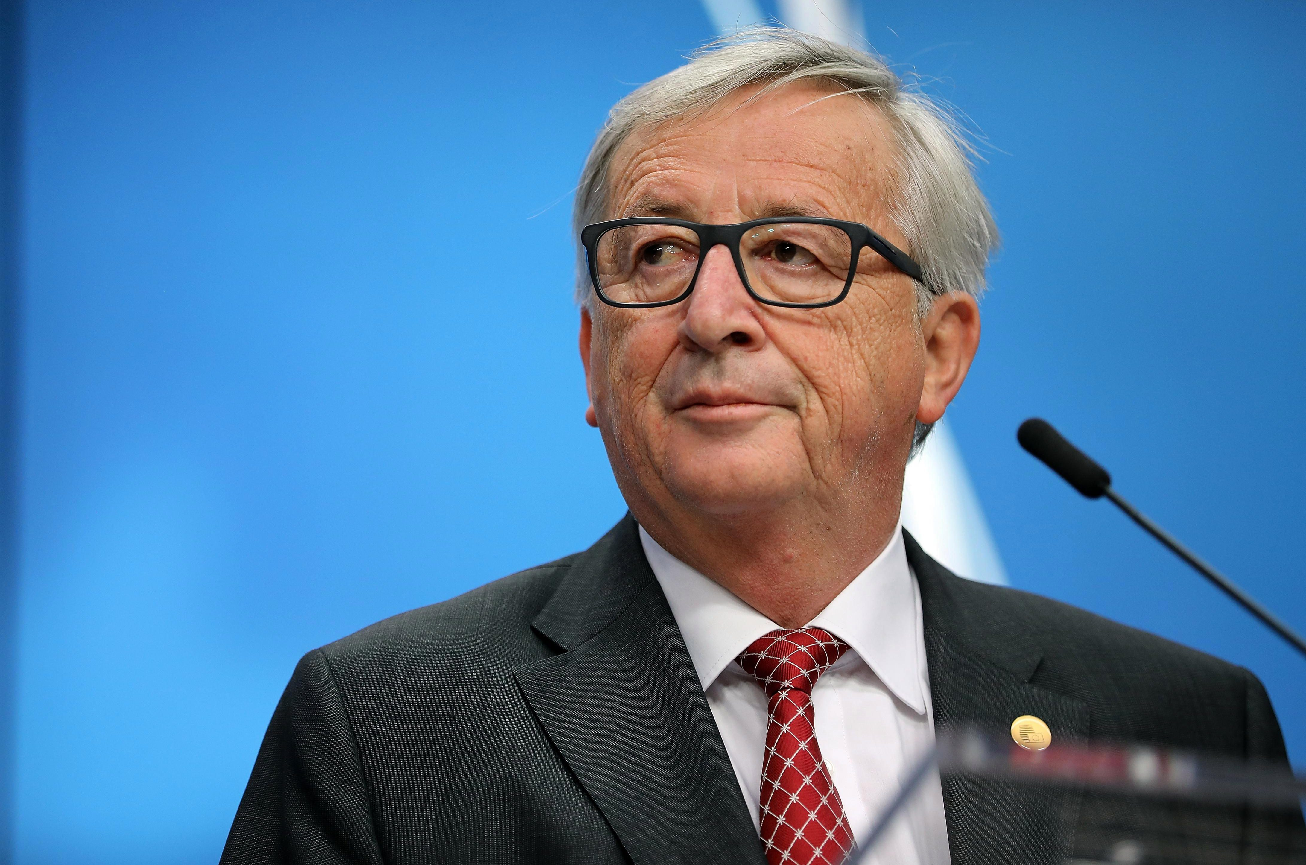 Arrogant EU chief Jean Claude Juncker says HE would make a better Prime Minister than Theresa May