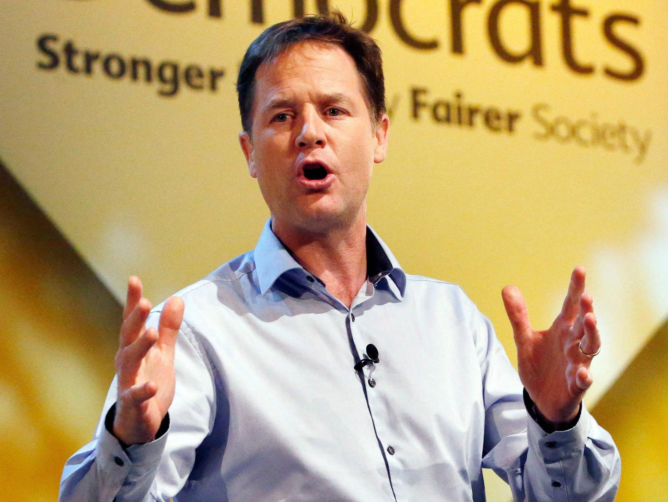 Europhile Nick Clegg admits 'soft Brexit is dead' and Britain WILL quit single market and customs union