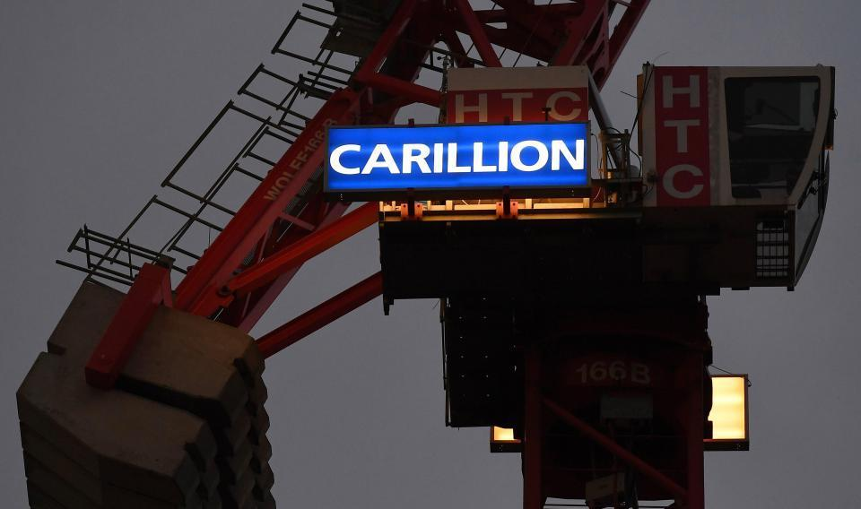 Another 230 Carillion workers are made redundant after construction giant's collapse – making a total of 1,371 jobs lost