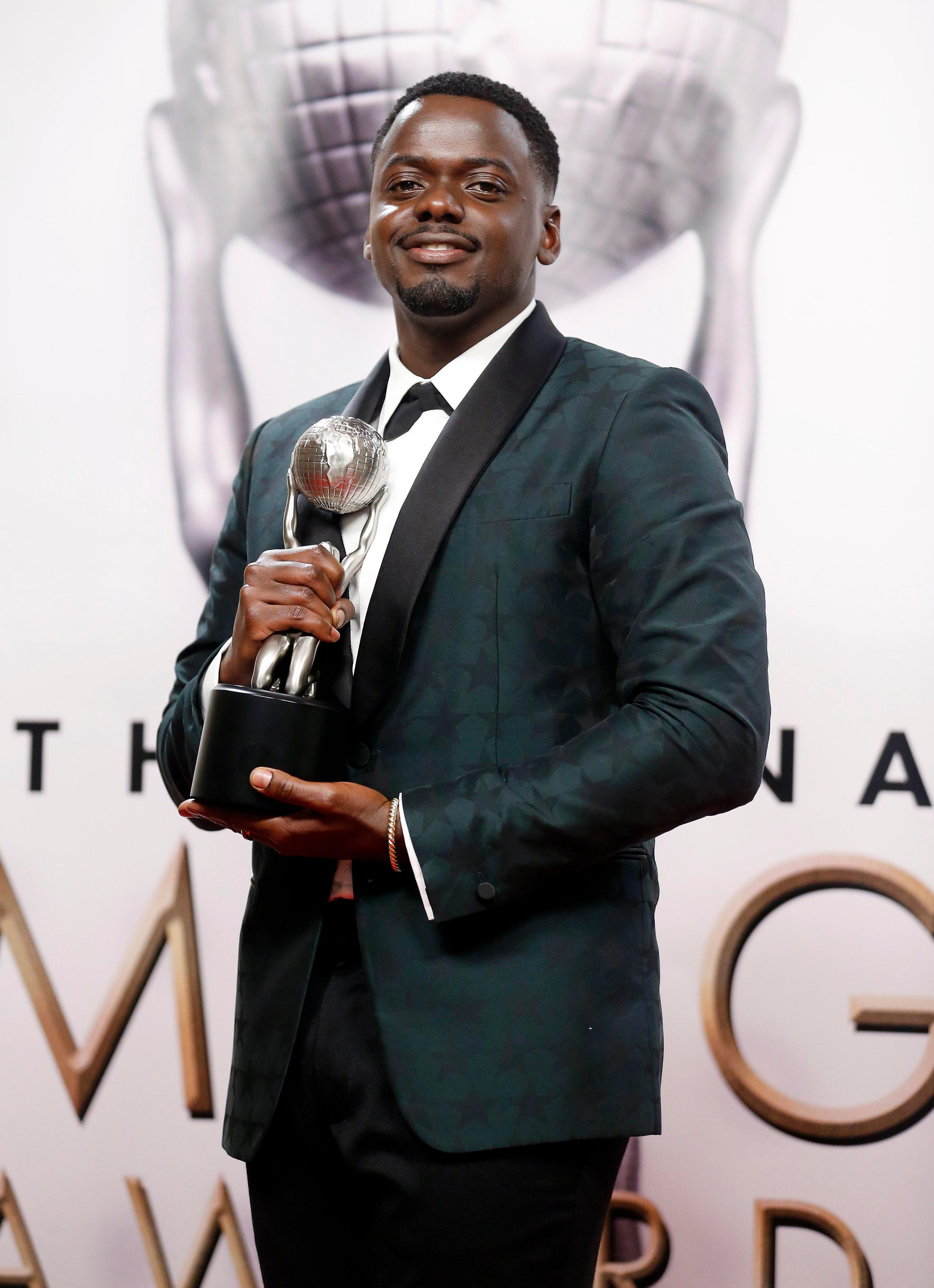 Who is Daniel Kaluuya, who does he play in Black Panther, was he in Black Mirror and who's his girlfriend?