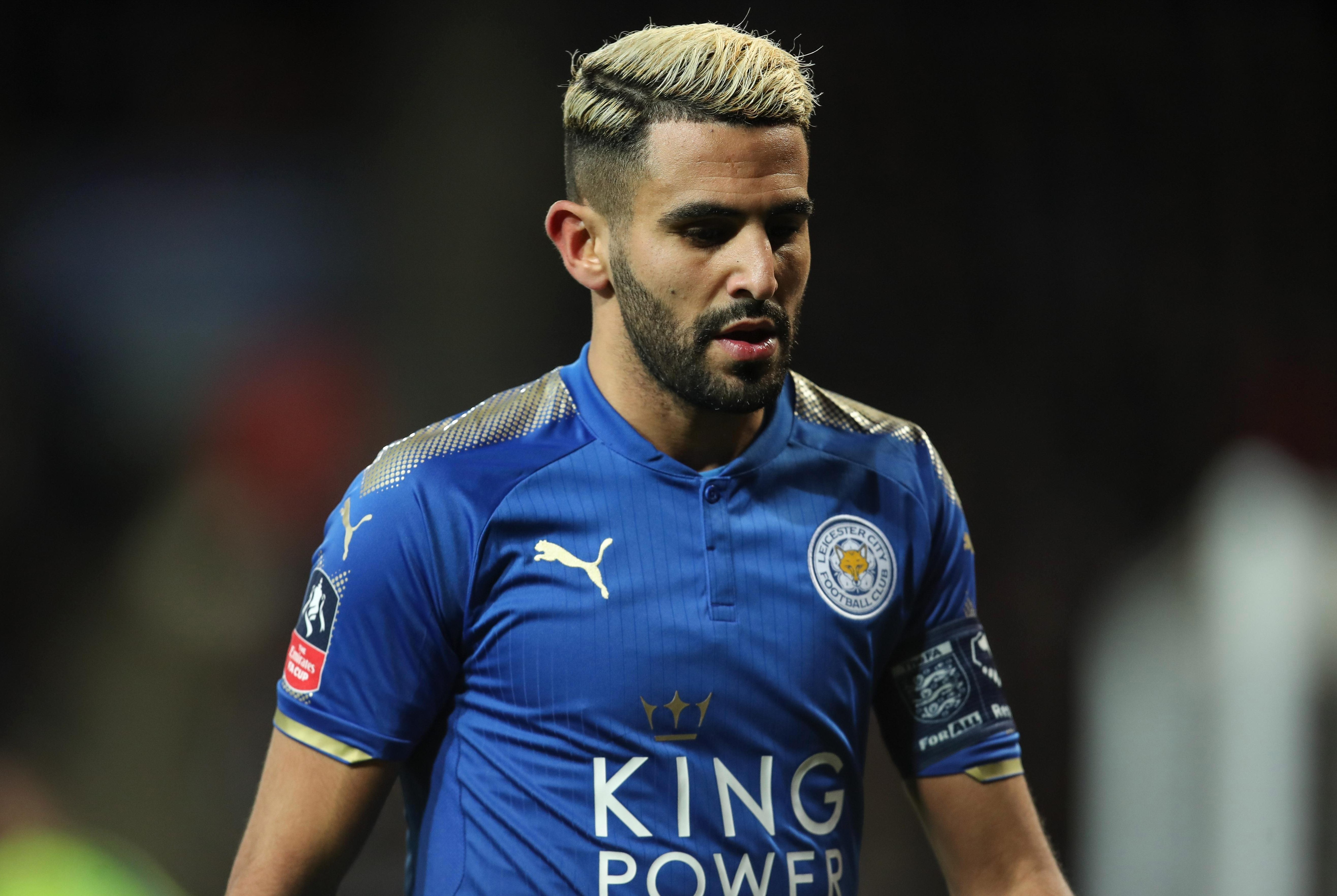 Leicester star Riyad Mahrez to miss Manchester City clash this weekend as strike continues