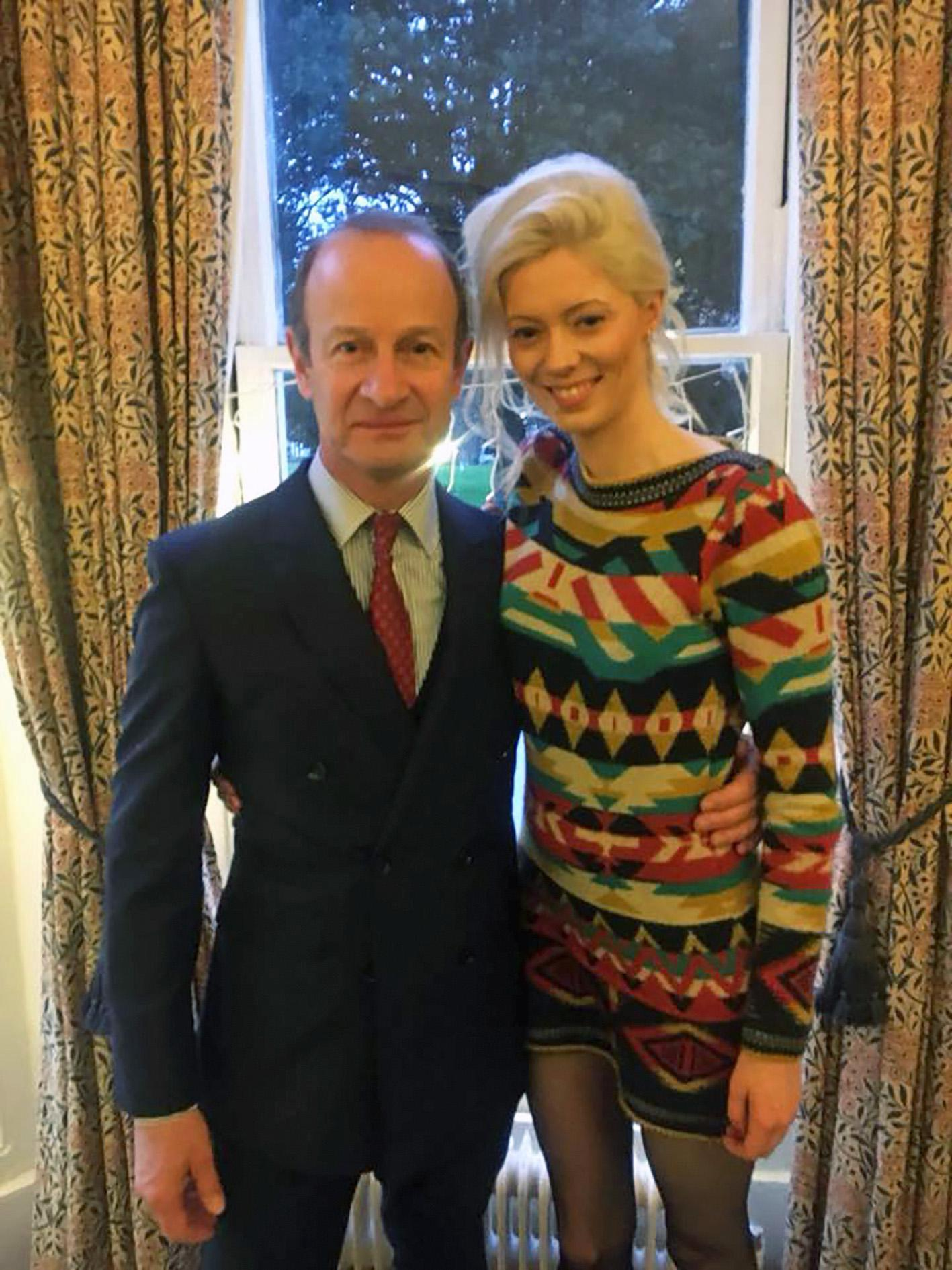 Henry Bolton's ex-girlfriend Jo Marney gives him over a thousand pounds of her own cash and pledges he'll 'never be alone'