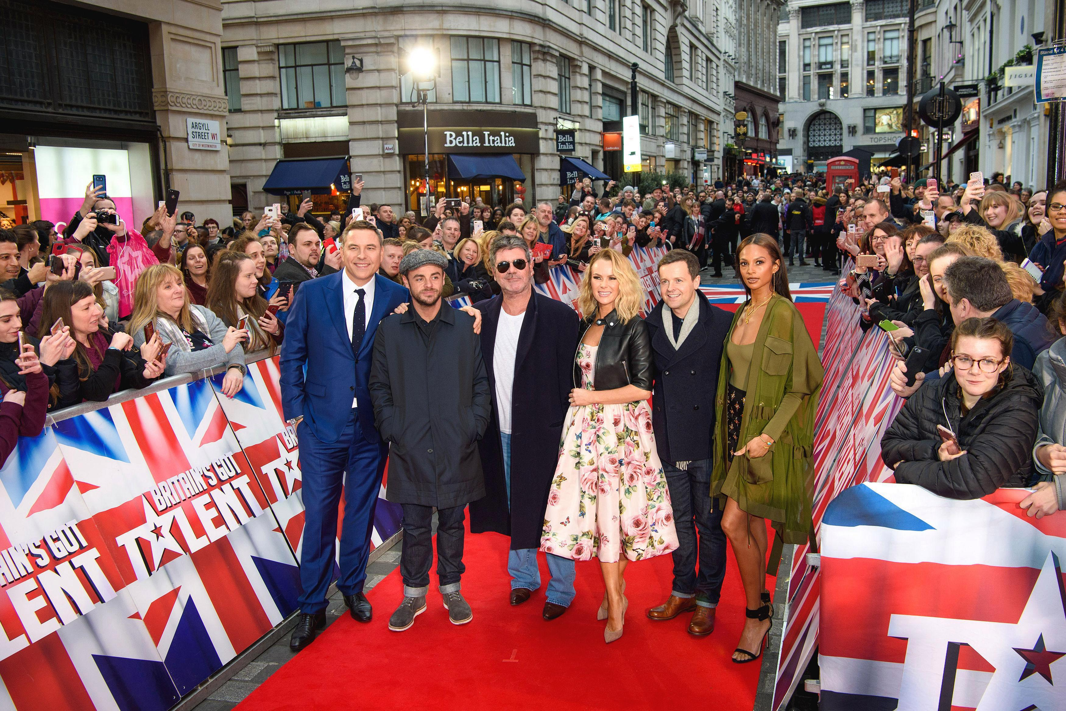 Britain's Got Talent bosses are taking security and safety of judges and audiences 'very seriously' amid acid attack fears at auditions