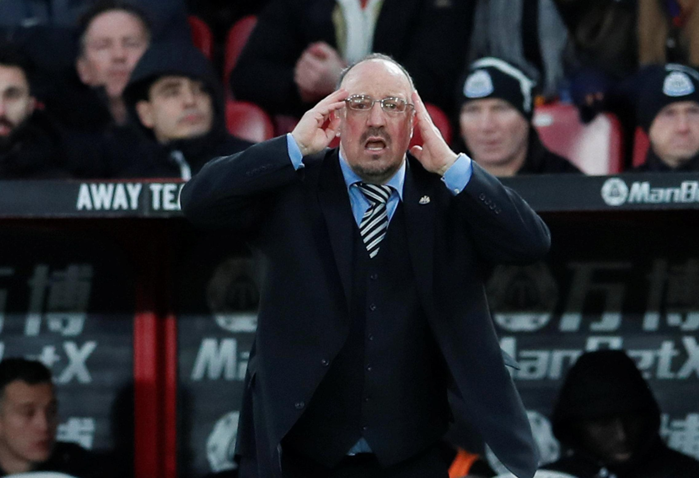 Rafa Benitez 'will quit Newcastle' if Mike Ashley is still Magpies owner next season