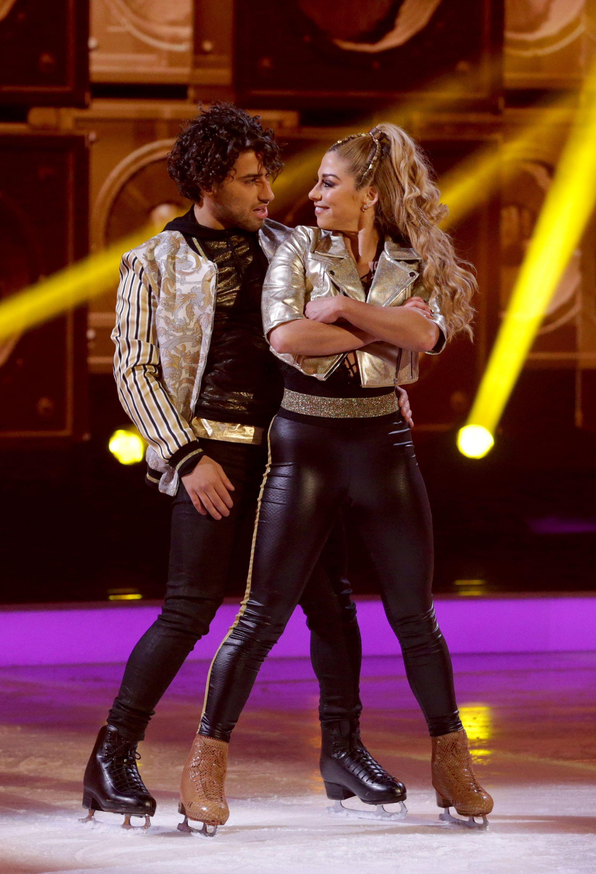 Kem Cetinay's Dancing On Ice performance 'in doubt' after partner Alex Murphy suffers ankle injury