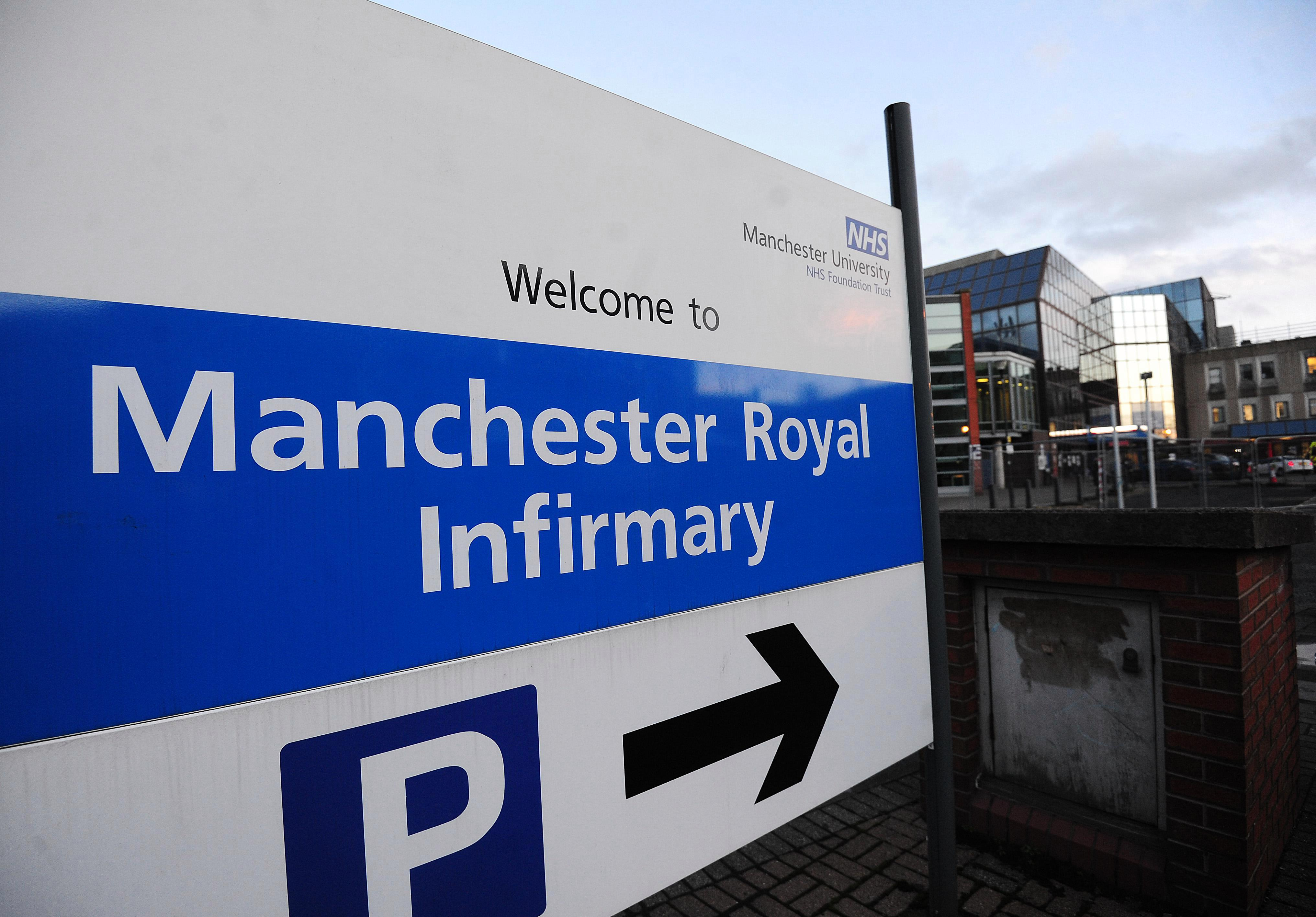 Patients in Manchester told to stay away, operations cancelled and doctors buy bottled water to wash hands after water supply dries up at four major hospitals