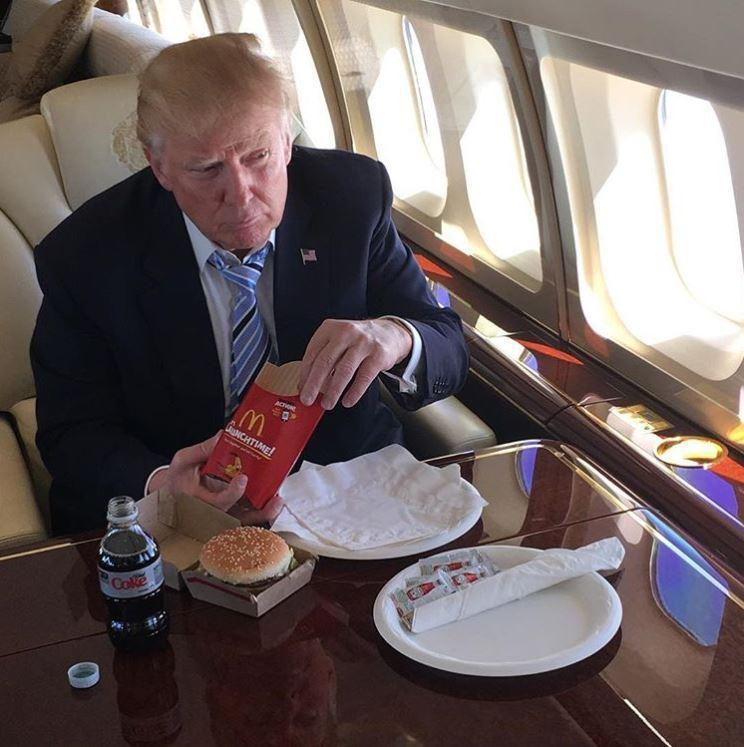 Donald Trump is right… fast food restaurants like McDonald's, KFC and Burger King ARE cleaner than swanky restaurants, study reveals