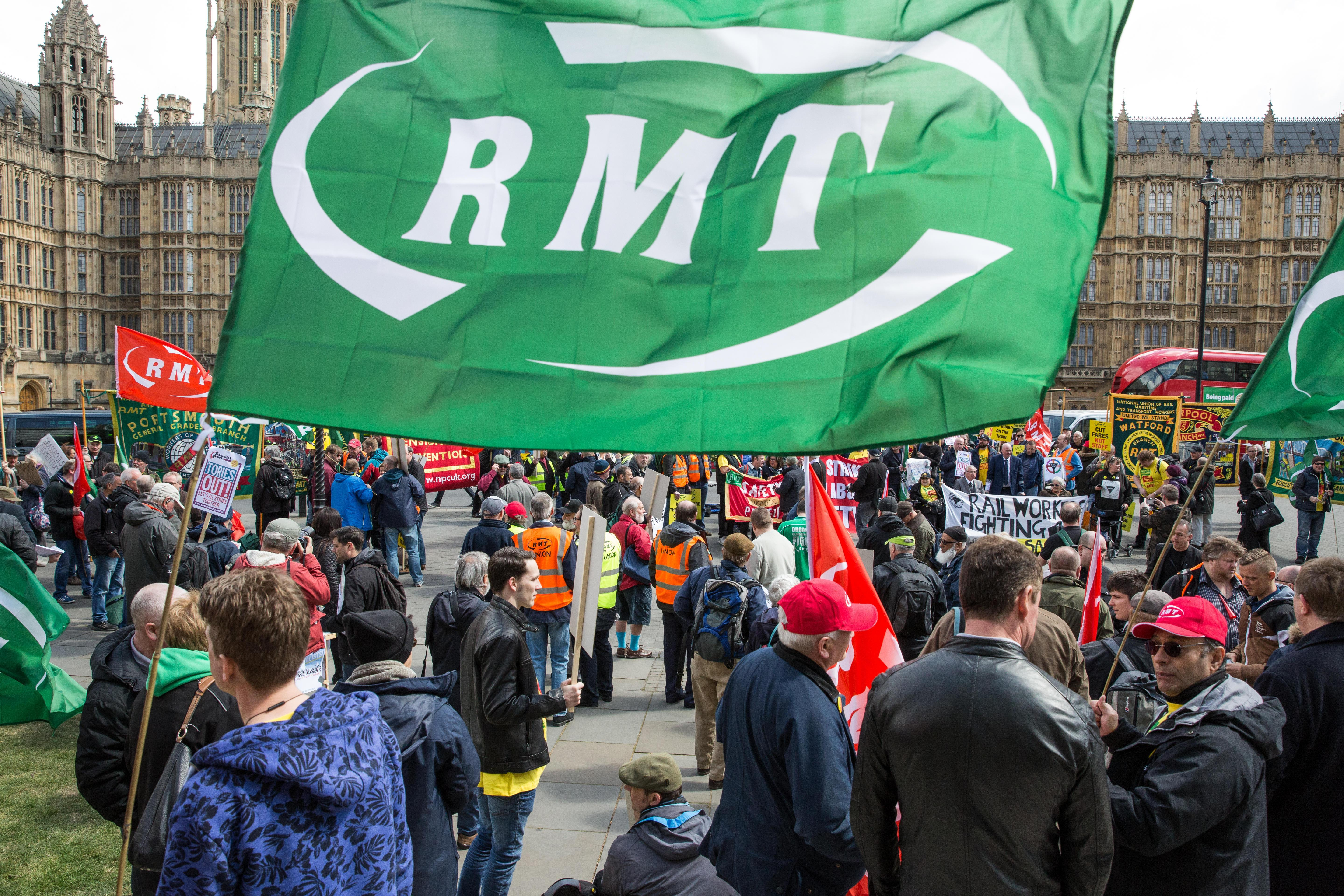 RMT bosses who called month-long strike accused of short changing train drivers and guards by £50 over dispute handout