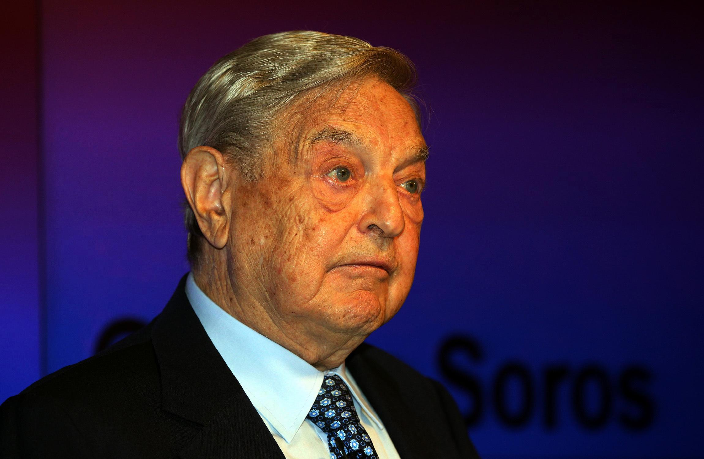 Hungarian billionaire George Soros told to 'stay out of British politics' after admitting £700,000 pro-EU donations