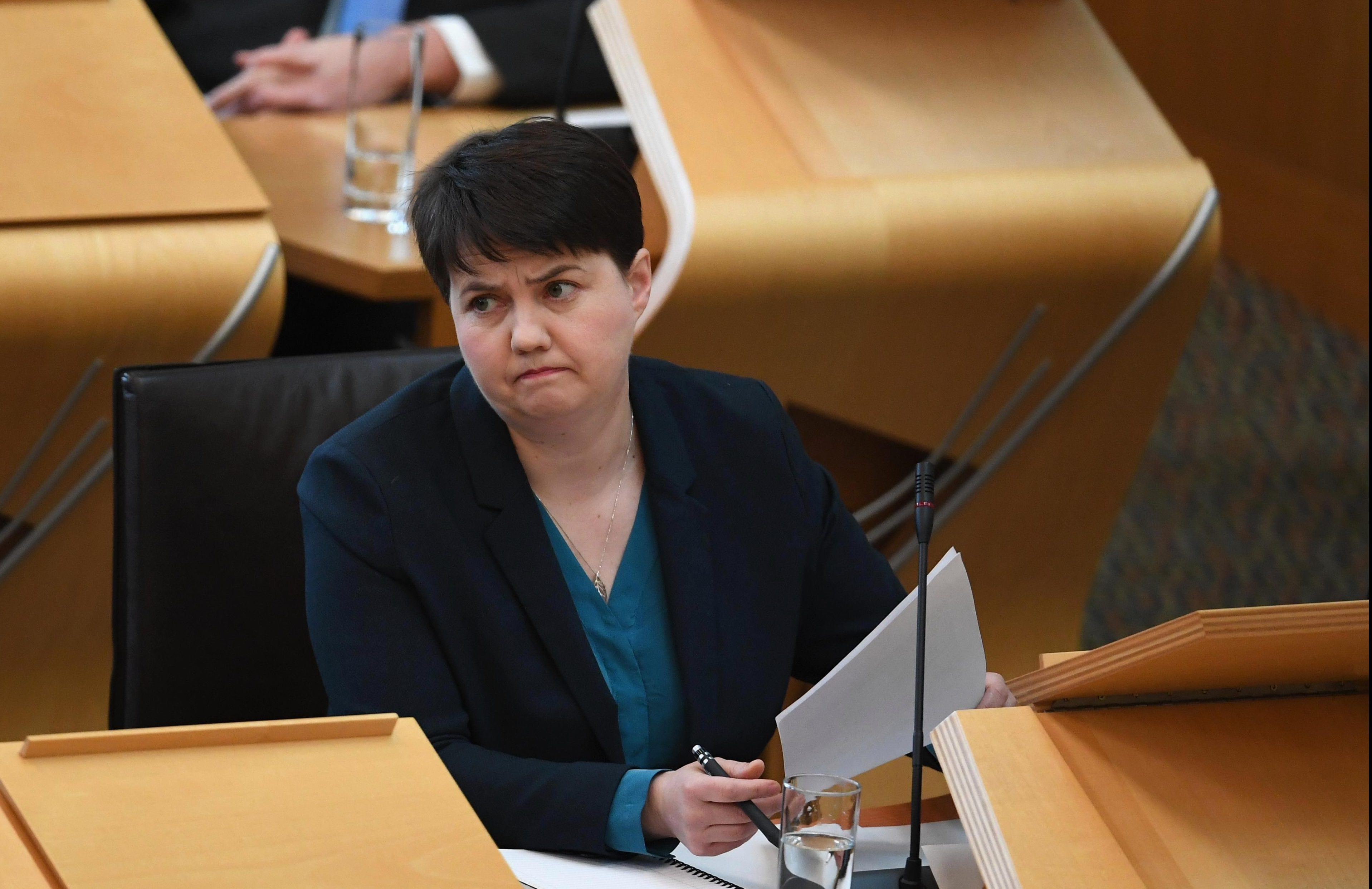 Ruth Davidson urges Oxfam chief exec Mark Goldring to quit or 'understand charities wrongdoing'