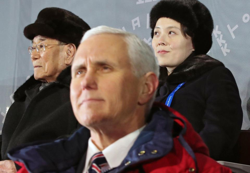 North Korea SNUBBED Mike Pence and cancelled crunch talks with US Vice President at Winter Olympics