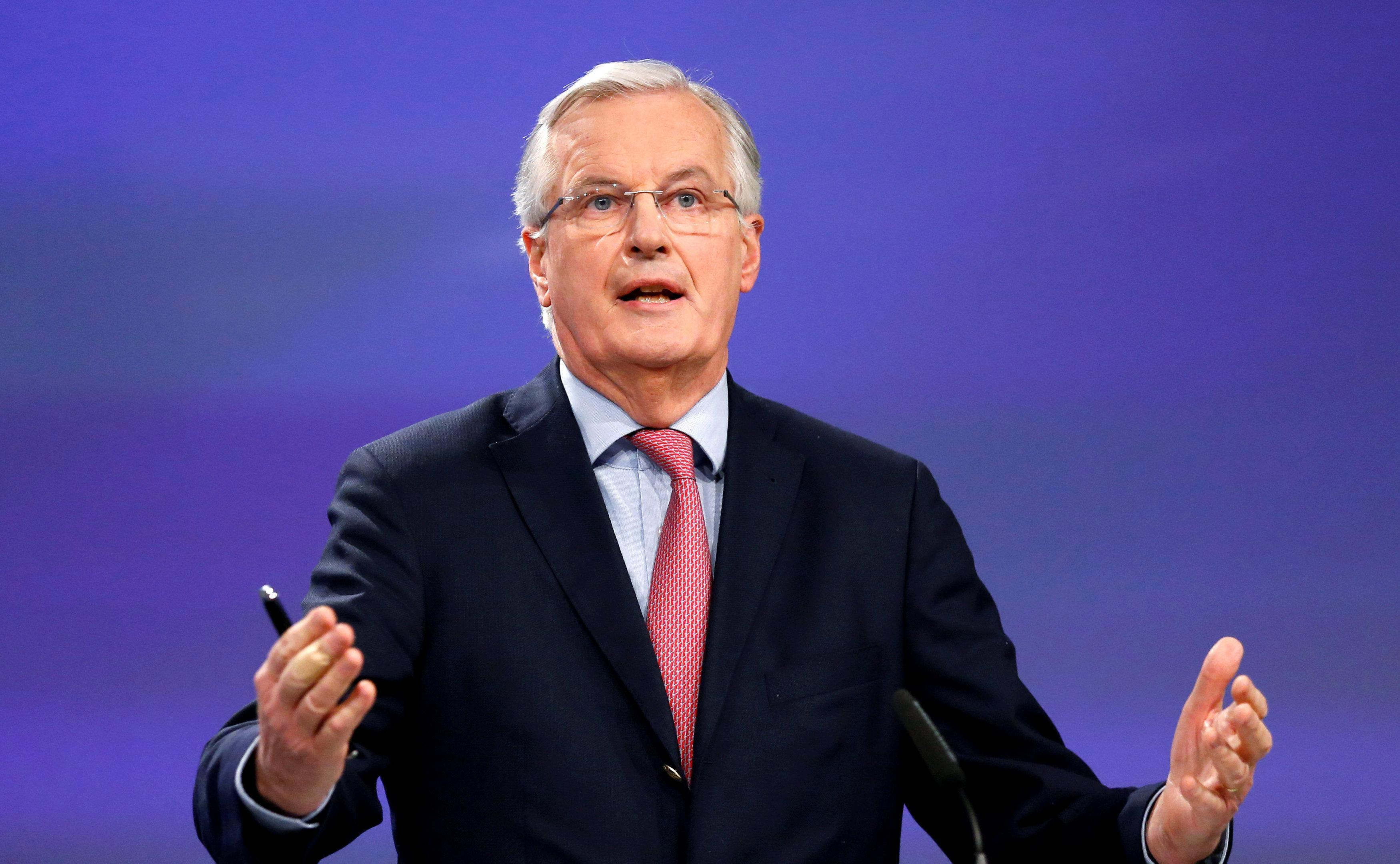 Brussels should not 'humiliate' Britain in the Brexit talks or the whole EU could collapse, key Macron ally warns Michel Barnier
