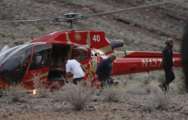 Grand Canyon helicopter crash firm at 'centre of a dozen aviation probes' before tragedy that killed 3 Brits