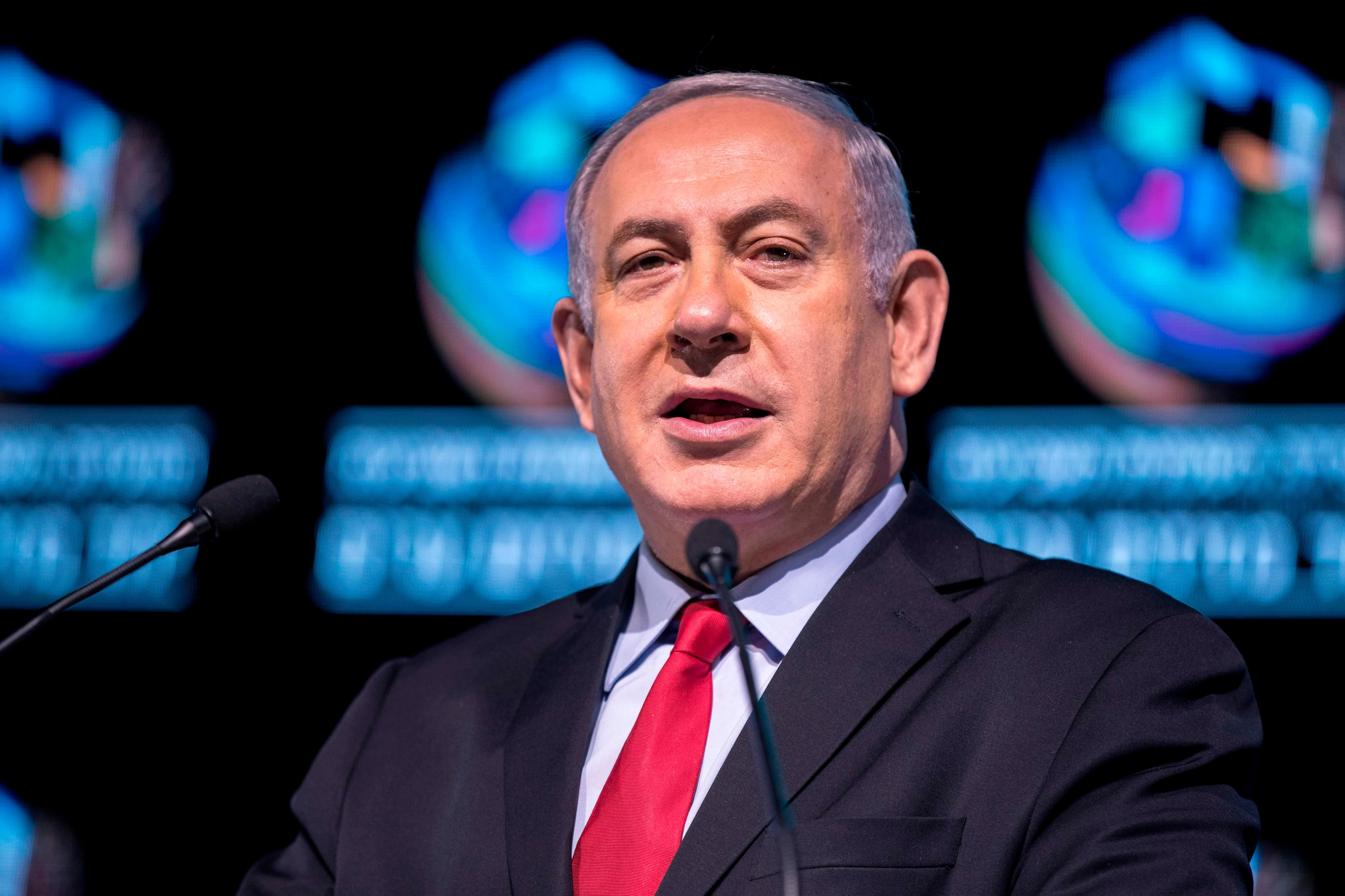 Israeli PM Benjamin Netanyahu slams years of 'baseless' conspiracies over 'slanderous' corruption claims that could force him out of office
