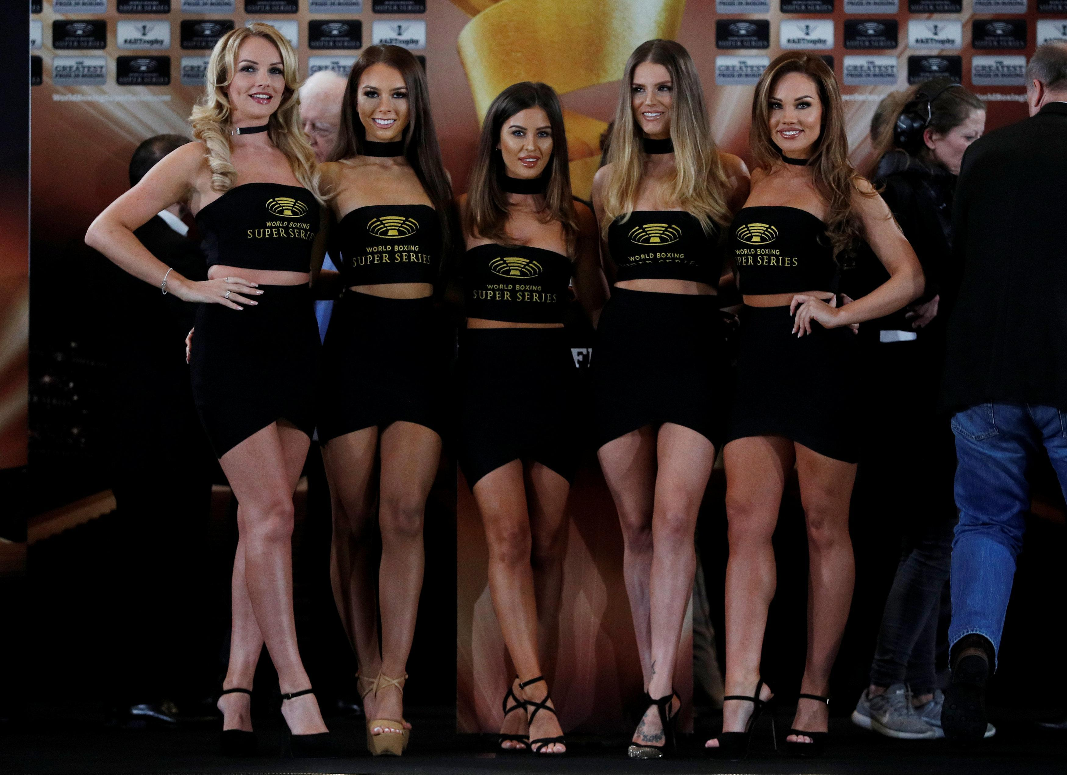 Sacked darts walk-on girl Charlotte Wood to lead team of ring girls for the George Groves vs Chris Eubank Jr clash