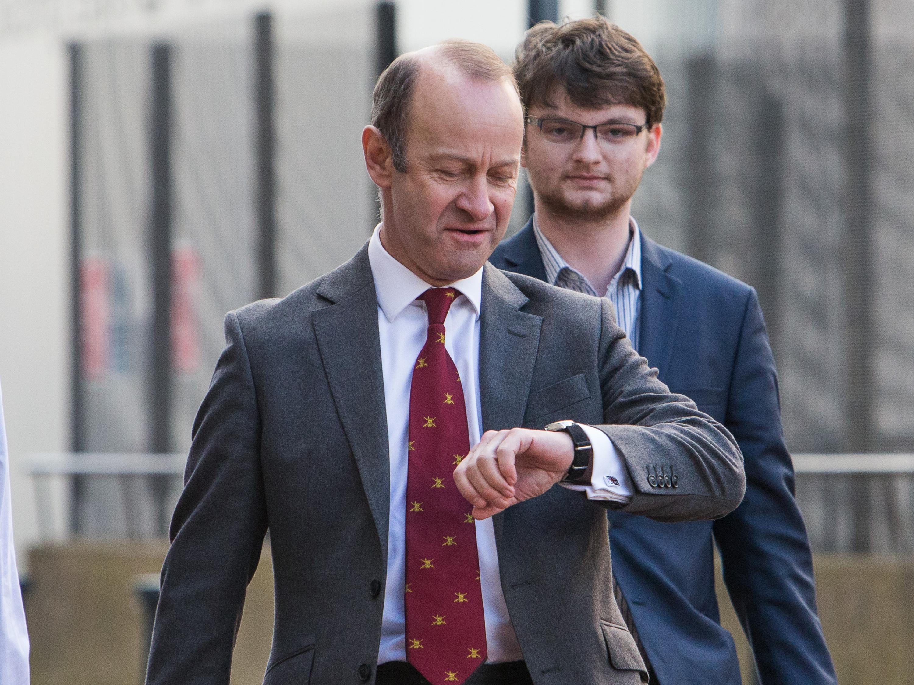 Henry Bolton could be sacked as Ukip leader TODAY as party members gather to vote on his future