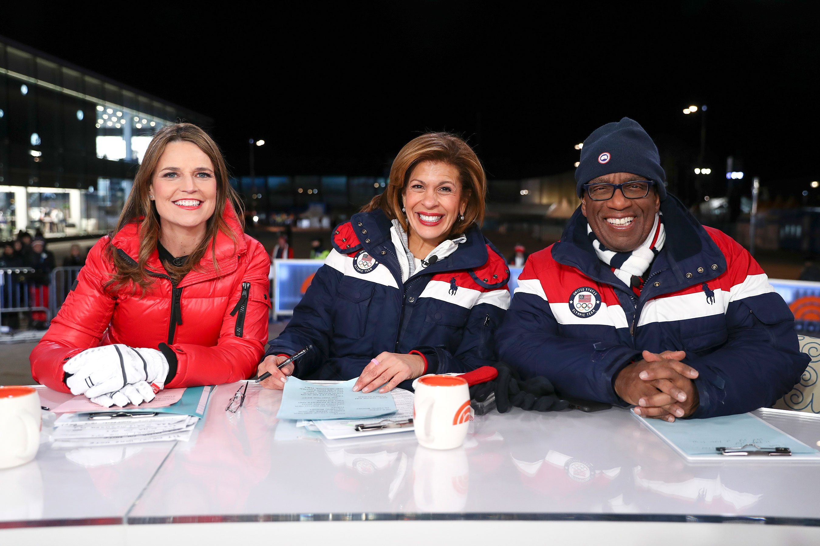 Todayanchors reunite with their families after Olympics in emotional video